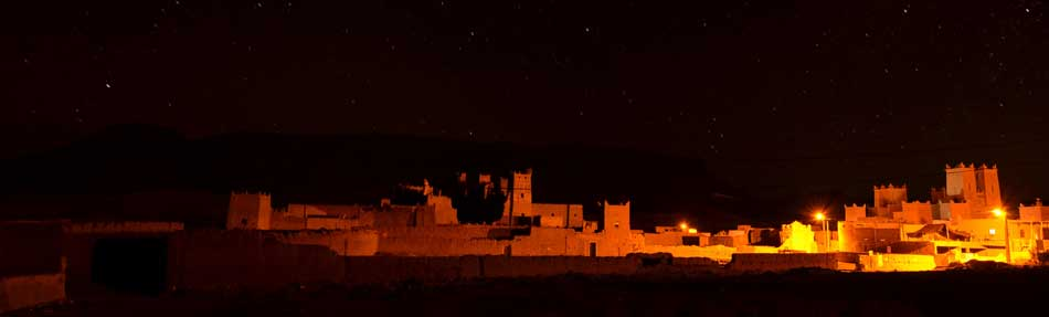 ouarzazate by night